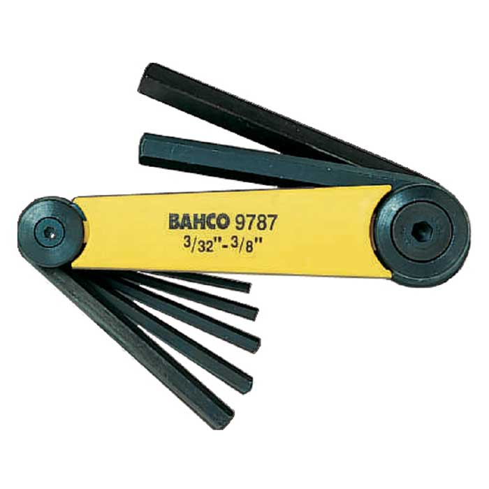 Набор шестигранных ключей Bahco, 3/32-3/8, 7 шт2706 (ПО)Набор из шестигранных ключей Bahco предназначены для работ с винтами, оснащенными внутренним шестигранным гнездом метрических размеров. В набор входят 7 ключей разных размеров. Набор шестигранных ключей Bahco - незаменимый предмет в Вашем хозяйстве. Характеристики: Материал: пластик, металл. Размеры ключей: 3/32, 1/8, 5/32, 3/16, 1/4, 5/16, 3/8. Размеры упаковки: 23 см х 7 см х 4 см.