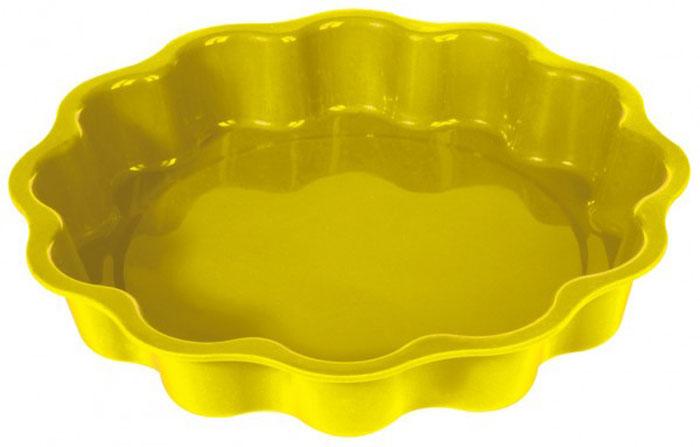 Форма для выпечки и заморозки Солнышко, силиконовая, цвет: жёлтый, диаметр 27 смFS-91909Форма для выпечки и заморозки Солнышко выполнена из силикона и предназначена для изготовления выпечки, конфет, мармелада, желе, льда и даже мыла. С помощью формы в виде яркого солнышка любой день можно превратить в праздник и порадовать детей.Силиконовые формы выдерживают высокие и низкие температуры (от -40°С до +230°С). Они эластичны, износостойки, легко моются, не горят и не тлеют, не впитывают запахи, не оставляют пятен. Силикон абсолютно безвреден для здоровья.Не используйте моющие средства, содержащие абразивы. Можно мыть в посудомоечной машине. Подходит для использования во всех типах печей. Характеристики:Материал: силикон. Общий размер формы: 27 см х 27 см х 4,5 см. Размер упаковки: 37 см х 31 см х 5 см. Изготовитель: Италия. Артикул: 93-SI-FO-33.