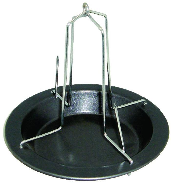 Форма для птицы-гриль Regent Inox Easy, 17 см93-CS-EA-10-01Форма для птицы-гриль Regent Inox Easy выполнена из высококачественной углеродистой стали и снабжена антипригарным керамическим покрытием, что обеспечивает форме прочность и долговечность. держатель обеспечивает равномерное пропекание курицы. Лишний жир стечёт в форму с антипригарным покрытием. Форма подходит для использования в духовке с максимальной температурой 250°С. Характеристики:Материал: углеродистая сталь, керамика. Размер формы: 17 см х 17 см х 15,5 см. Размер упаковки: 17,5 см х 17,5 см х 4 см. Изготовитель: Италия. Артикул: 93-CS-EA-10-01.