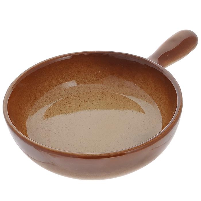 Сковорода Pekorino. Диаметр 18 см54 009312Сковорода Pekorino изготовлена из высококачественной жаропрочной керамики, которая прекрасно сохраняет температуру и идеально подходит для блюд, требующих длительного приготовления.Подходит для использования в духовом шкафу, микроволновой или конвекционной печи. Сковорода является экологически безопасной, так как не содержит кадмия и свинца. Не рекомендуется ставить на открытый огонь. Характеристики: Материал:керамика. Диаметр сковороды: 18 см. Диаметр диска сковороды: 15 см. Высота стенки сковороды: 5 см. Длина ручки: 9,5 см. Размер упаковки: 27 см х 19 см х 5 см. Производитель: Китай. Артикул: 588-021.