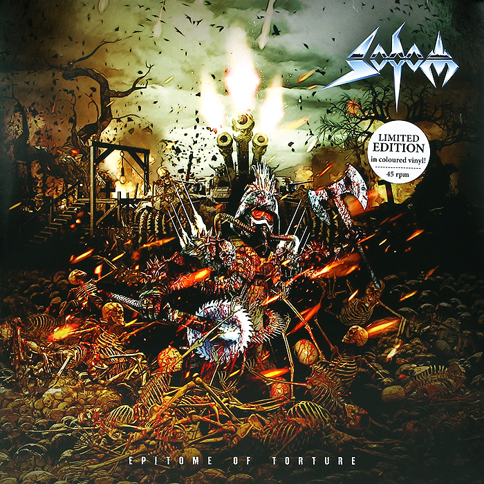 Sodom Sodom. Epitome Of Torture. Limited Edition (2 LP) on torture