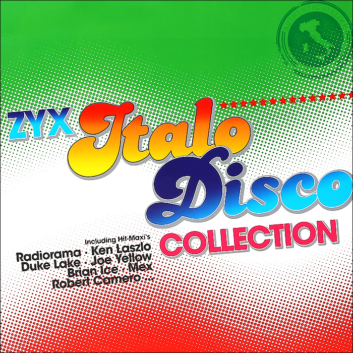 ZYX Italo Disco Collection (3 LP) primadonna dave merlin крис луис radiorama hugh bullen italo disco 12 hits 2 cd