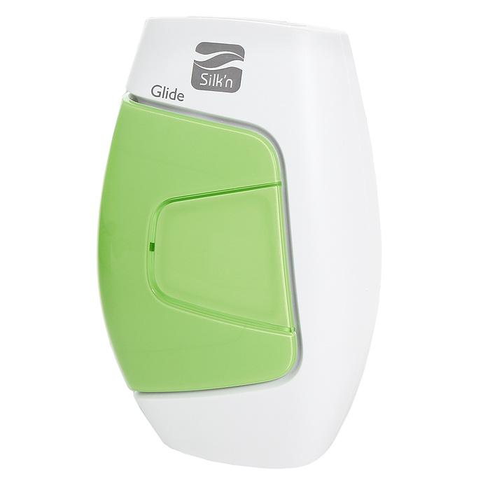 Фотоэпилятор Silkn GlideSE 1 1370Домашнийфотоэпилятор Silk n Glide успешно прошёл все клинические испытания, в том числе, Управлением по санитарному надзору за медикаментами, и рекомендован к использованию ведущими дерматологами и пластическими хирургами.В домашнем эпиляторе Silk n Glide используется собственная запатентованная технология HPL импульсного света длиной волны 475-1200 нм. Прибор предназначен для лёгкого и безопасного проведения фотоэпиляции в домашних условиях. Вспышки света оптимальной мощности 3-5 Дж/см2 действуют быстро и безболезненно и не оставляют после себя никаких ожогов. Во время процедуры вы почувствуете только мягкое тепло, пробегающее по коже.Картридж рассчитан на 50.000 импульсовПлощадь эпиляции: 3 кв.смСкорость:5 настраиваемых режимов: серийная вспышка 1 импульс за 1 сек., 1 вспышка каждые 3,5 сек.Среднее время сеанса эпиляции ног 25 мин.Фотоэпилятор Silk n Glide оборудован специальным датчиком, предназначенным для определения цвета кожи, что даёт возможность применять фотоэпилятор только на участках, имеющих подходящий тон кожи.Silk n Glide позволяет регулировать скорость выполнения процедур, поскольку от используемого уровня энергии зависит время перезагрузки фотоэпилятора между импульсами. Поэтому чем ниже уровень энергии, тем это время короче, а для выполнения процедуры фотоэпиляции с использованием Silk n Glide требуется меньше времени.Режим скольжения наиболее подходит при использовании низкого уровня энергии, а также если требуется быстрое выполнение процедуры. При более низком уровне энергии на перезагрузку между импульсами требуется всего 1–1,5 секунды, что генерирует непрерывную цепочку вспышек:1 уровень энергии – 1 импульс в секунду (!!!)2 уровень энергии – 1 импульс каждые 1,5 секунды (!!!)3 уровень энергии – 1 импульс каждые 2, 3 секунды (!!!)4 уровень энергии – 1 импульс каждые 3 секунды (!!!)5 уровень энергии – 1 импульс каждые 3, 4 секунды (!!!)Его можно использовать на любых участках тела, даже на самых чувствительных, а 