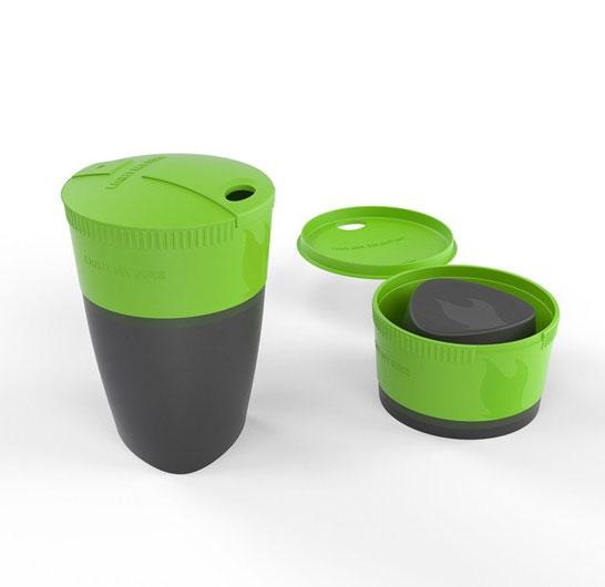 Складной стакан Light My Fire Pack-up-Cup 260 мл, цвет: зеленый42393310Складная кружка Pack-up-Cup. Кружка отлично подходит для использования как в походе, так и в офисе. Компактно складывается для более удобной переноски, в рабочем состоянии может вмещать до 260 мл жидкости. При необходимости кружку легко можно поместить в MealKit или в LunchKit.