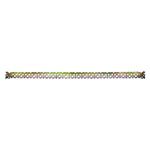 """С помощью форм для вырубки """"Sizzlits"""" можно создать фигурку в виде красивого венецианского узора. Формы для вырубки - это определенной формы ножи, обеспечивающие форму вырубной фигуры. Они режут бумагу, картон и ткань. Формы станут незаменимыми при создании скрап-страничек, открыток и конвертов с резными декоративными фигурками и ажурными украшениями. Формы для вырубки разнообразят вашу работу и добавят вдохновения для новых идей. Формы подходят для машинки для вырубки и эмбоссирования """"Big Shot""""."""
