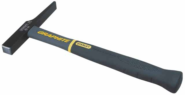 Молоток электрика Stanley Graphite, 200 гАксион Т-33Молоток электрика Stanley Graphite-это очень удобный в обращении инструмент с отличным балансом. Рукоятка содержит внутри графитовый стержень и не может быть отделена от головки благодаря неразрушаемому соединению. Характеристики: Материал: металл, пластик, резина. Размер молотка: 28,5 см х 14 см х 3 см. Размер ручки: 26,5 см х 3,5 см х 3 см. Вес: 200 г. Размеры упаковки: 28,5 см х 14 см х 3 см.