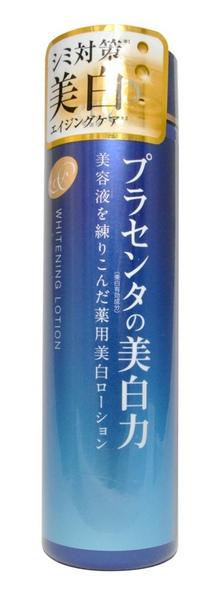 Meishoku Лосьон-молочко с экстрактом плаценты, с отбеливающим эффектом, 180 млFS-00897Лосьон-молочко Meishoku - антивозрастное средство! Предупреждает появление пигментных пятен! Увлажняет и отбеливает кожу, придавая ей здоровый и сияющий вид!Сила отбеливания - в плаценте! Совмещая действие лосьона и молочка, средство глубоко увлажняет, поддерживает оптимальный уровень влаги в клетках кожи, придает ей упругость и эластичность. Активные компоненты в составе средства обладают увлажняющими, восстанавливающими и отбеливающими свойствами. Характеристики:Объем: 180 мл. Артикул: 236006. Производитель: Япония. Товар сертифицирован.