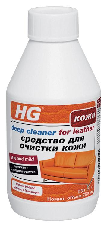Средство HG для очистки кожи, 250 мл173030161Чистящее средство на водной основе мягко и глубоко проникает в поры натуральной кожи и удаляет загрязнения, свежие следы от фломастера, шариковой ручки, лака для ногтей и т.д. Предназначено для предварительной очистки кожи перед применением Средства для кожи 4 в 1. Характеристики: Объем: 250 мл. Размер упаковки: 15 см х 8 см х 7 см.
