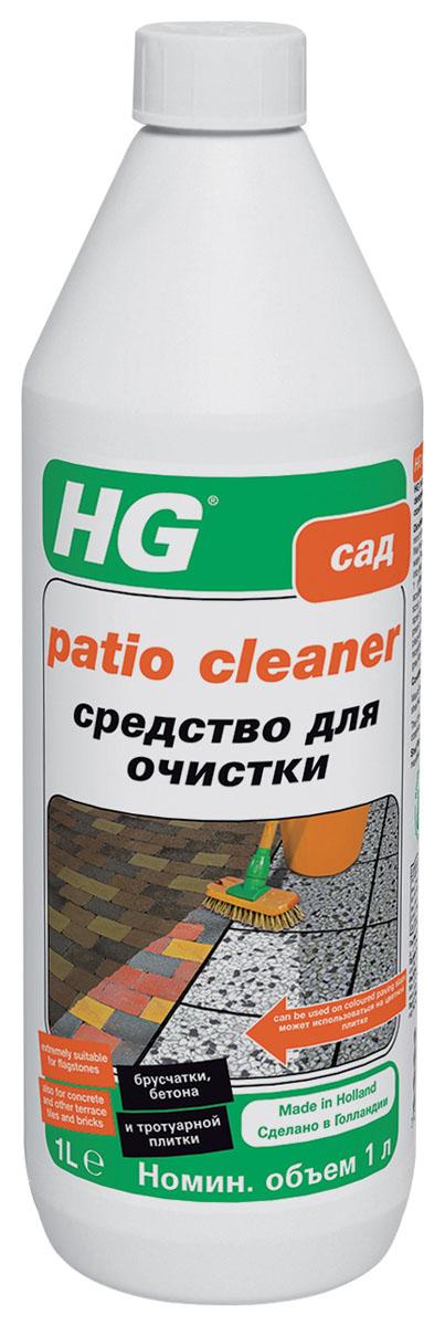Средство HG для очистки брусчатки, бетона и тротуарной плитки, 1000 мл301468Средство HG - высококонцентрированным очиститель, который был разработан специально для очистки тротуарной плитки, брусчатки, бетона. Инструкции по применению: Смочите очищаемую поверхность, не оставляя луж. Приготовьте раствор из 1 части средства и 4 частей воды. Нанесите получившийся раствор на очищаемую поверхность щеткой. Оставьте для воздействия на 5-10 минут. Если в течение этого времени поверхность будет подсыхать, ее необходимо смачивать раствором снова. После этого смойте загрязнения и раствор большим количеством воды. Расход: Одного литра средства достаточно для обработки около 25 кв.м поверхности.Объем: 1000 мл.