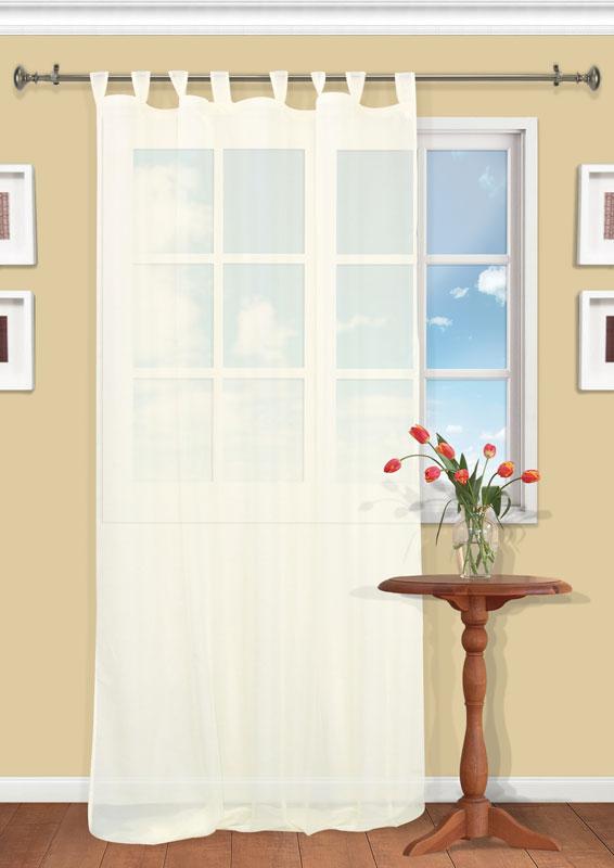 Штора Kauffort Анастасия, на петлях, цвет: шампань, высота 290 смUN111400115Воздушная штора Kauffort Анастасия, выполненная из полупрозрачной вуали цвета шампанского, станет великолепным украшением любого окна. Тонкое плетение и нежная цветовая гамма привлекут к себе внимание и органично впишутся в интерьер помещения. Штора оснащена петлями для крепления на круглый карниз и шторной лентой для красивой сборки. Характеристики: Материал: 100% полиэстер. Цвет: шампань. Размер упаковки: 37 см х 27 см х 2 см. Артикул: UN111400115.В комплект входит: Штора - 1 шт. Размер (Ш х В): 150 см х 290 см (отклонение размера ~ 1,5%).