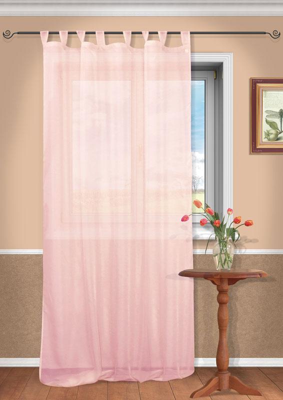 Штора Kauffort Анастасия, на петлях, цвет: розовый, высота 290 см10503Воздушная штора Kauffort Анастасия, выполненная из полупрозрачной вуали розового цвета, станет великолепным украшением любого окна. Тонкое плетение и нежная цветовая гамма привлекут к себе внимание и органично впишутся в интерьер помещения. Штора оснащена петлями для крепления на круглый карниз и шторной лентой для красивой сборки. Характеристики: Материал: 100% полиэстер. Цвет: розовый. Размер упаковки: 37 см х 27 см х 2 см. Артикул: UN111400171.В комплект входит: Штора - 1 шт. Размер (Ш х В): 150 см х 290 см (отклонение размера ~ 1,5%).