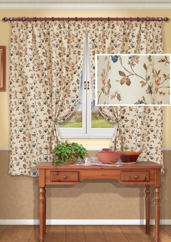 Комплект штор Kauffort Флорида, на ленте, цвет: бежевый, серый, высота 175 смK100Комплект Kauffort Флорида состоит из двух штор, выполненных из полиэстера и хлопка. Полотна выполнены в бежевом цвете и оформлены бежево-серым цветочным рисунком.Качественный материал, оригинальный дизайн и приятная цветовая гамма привлекут к себе внимание и органично впишутся в интерьер помещения. Шторы оснащены шторной лентой для красивой сборки.Комплект штор Kauffort Флорида станет великолепным украшением любого окна. Характеристики: Материал: 46% полиэстер, 54% хлопок. Цвет: бежевый, серый. Размер упаковки: 37 см х 28 см х 4 см. Артикул: UN123316660.В комплект входит: Штора - 2 шт. Размер (Ш х В): 138 см х 175 см (отклонение размера ~ 1,5%). Уважаемые клиенты! Обращаем ваше внимание на тот факт, что подхваты, изображенные на фотографии, в комплект не входят.