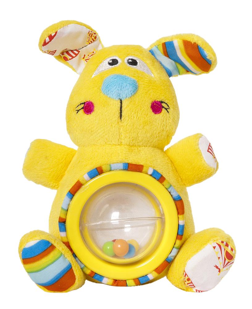 Мягкая игрушка-погремушка Дрессировщица Алиса