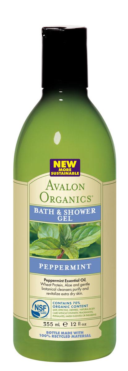 Avalon Organics Гель для ванны и душа Мята, 355 млFS-00897Награждая тело легкими нотами мяты и естественной свежестью, устраняет раздражение и шелушение, активно смягчает, оживляет и тонизирует кожу. Обладает антибактериальными и противовоспалительными свойствами, способствует заживлению и повышению защитных функций, что позволяет применять гель при кожных проблемах. Характеристики:Объем: 355 мл. Артикул: AV35188. Производитель: США. Товар сертифицирован.