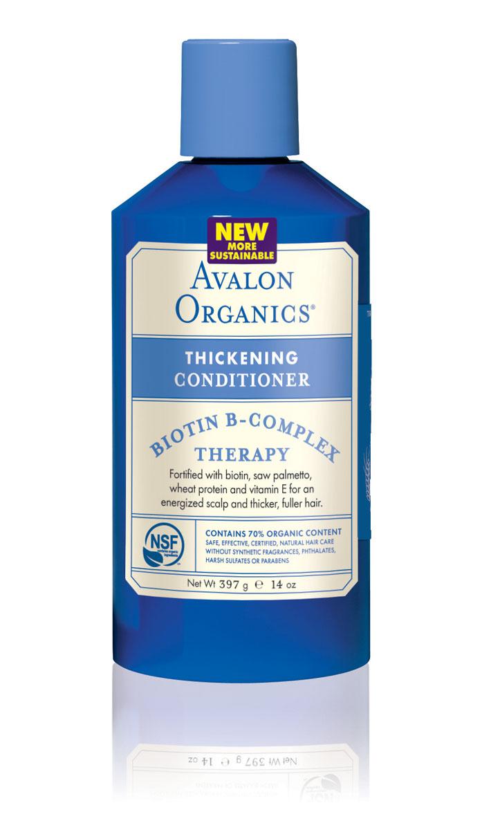 Avalon Organics Кондиционер для волос Биотин, 400 млFS-36054Уникальный органический комплекс с биотином увлажняет, смягчает и интенсивно насыщает структуру питательной влагой. Способствует сцеплению и более плотному прилеганию кератиновых клеток, что восстанавливает поврежденные участки стержня волос, способствует утолщению его поверхностного слоя. Стимулируя, питая и укрепляя фолликулы, предотвращает выпадение, активизирует рост здоровых волос и увеличивает общий объем. Характеристики:Объем: 400 мл. Артикул: AV36122. Производитель: США. Товар сертифицирован.