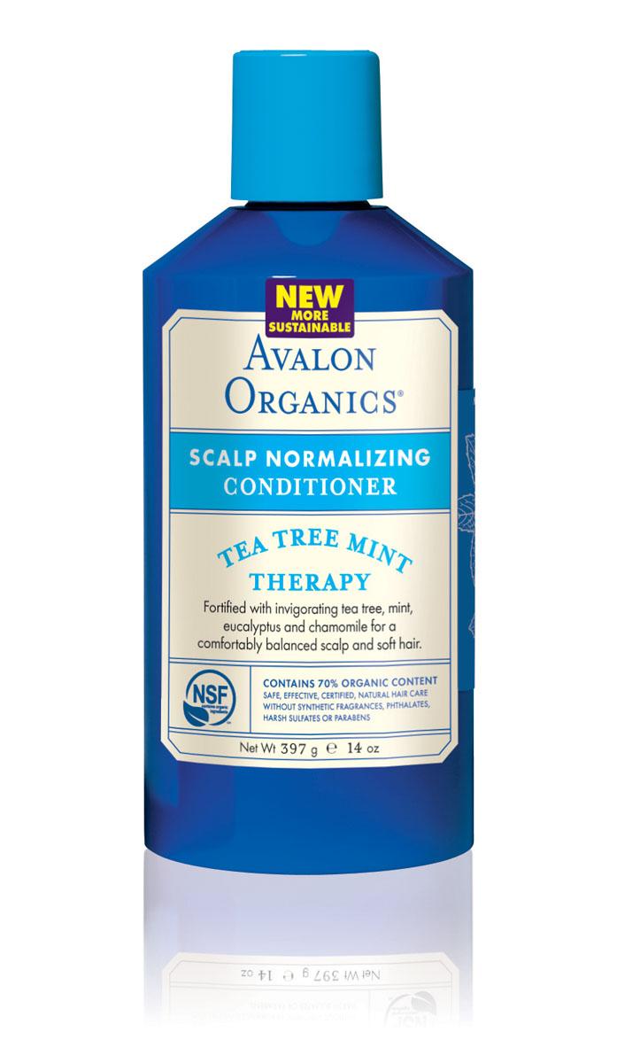 Avalon Organics Нормализующий кондиционер для волос Чайное дерево и мятя, 400 млFS-54102Уникальный, органический комплекс масел, экстрактов и протеинов, не утяжеляя волосы, идеально смягчает, увлажняет, герметизирует кутикулу и эффективно восстанавливает структуру секущихся кончиков волос. Оказывает противовоспалительное, антибактериальное и противогрибковое действие, препятствует появлению перхоти и развитию сухой себореи. Характеристики:Объем: 400 мл. Артикул: AV36125. Производитель: США. Товар сертифицирован.