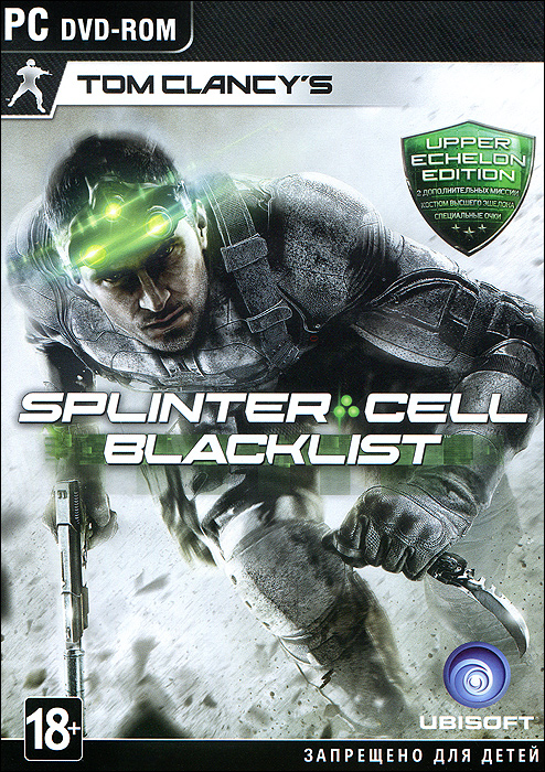 Tom Clancy's Splinter Cell: Blacklist. Upper Echelon Edition tom clancy's splinter cell 3d