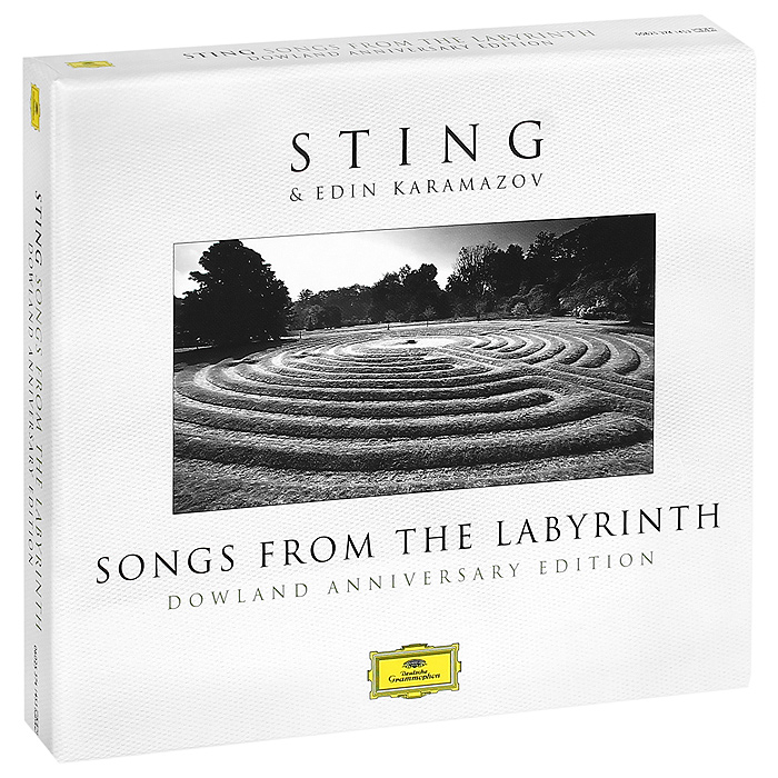 Стинг,Эдин Карамазов Sting. Songs From The Labyrinth. Downland Anniversary Edition (CD + DVD) sting sting the complete studio collection 16 lp