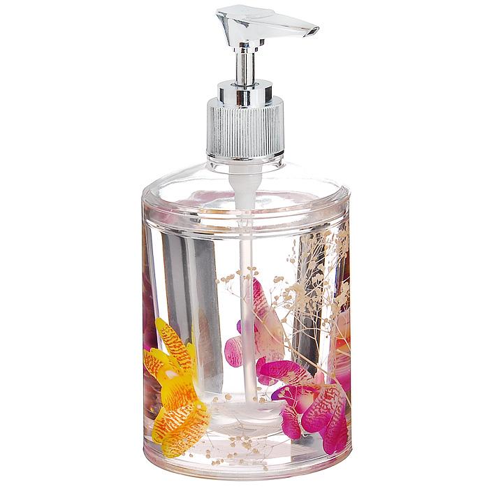 Дозатор для жидкого мыла ОрхидеяRG-D31SДозатор для жидкого мыла Орхидея, изготовленный из прозрачного пластика, отлично подойдет для вашей ванной комнаты. Дозатор имеет двойные стенки, между которыми находится прозрачный нетоксичный гелевый наполнитель с цветками орхидей. Такой аксессуар очень удобен в использовании: достаточно лишь перелить жидкое мыло в дозатор, а при необходимости легким нажатием выдавить нужное количество. Дозатор для жидкого мыла Орхидея создаст особую атмосферу уюта и максимального комфорта в ванной. Характеристики: Материал: пластик, акрил, гелевый наполнитель. Диаметр дозатора: 8 см. Высота дозатора: 17,5 см. Производитель: Швеция. Изготовитель: Китай. Размер упаковки: 8,5 см х 8,5 см х 17 см. Артикул: 337-03.