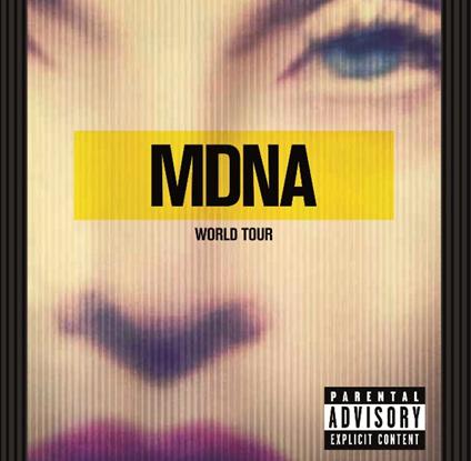 Мадонна Madonna: MDNA World Tour (2 CD) madonna the confessions tour