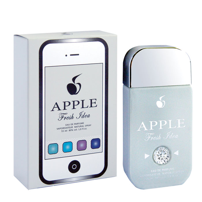 Apple Parfums Парфюмерная вода женская Fresh Idea, 55 мл1301210Светлое дыхание, упоение свежестью утра, радостью предстоящих встреч! Кристальная чистота морозного воздуха, или игривый бег весеннего ветра, или дыхание морских просторов - каждый раз, согретый женской кожей, аромат будет рождать новые фантазии, но всегда с оттенками чистоты и прохлады! Эта чудесная мелодия построена на гармонии влажной, немного загадочной красоты лотоса в солнечных бликах цитрусов, как в лучах восходящего солнца.Для натур открытых, устремленных, мечтательных, которым аромат поможет обрести крылья!Классификация аромата: цветочно-водяной.Пирамида аромата:Основные ноты: груша, цитрусы, бамбук, лотос, черная смородина, мускус, зеленый чай. Характеристики:Объем: 55 мл. Производитель: Россия. Самый популярный вид парфюмерной продукции на сегодняшний день - парфюмерная вода. Это объясняется оптимальным балансом цены и качества - с одной стороны, достаточно высокая концентрация экстракта (10-20% при 90% спирте), с другой - более доступная, по сравнению с духами, цена. У многих фирм парфюмерная вода - самый высокий по концентрации экстракта вид товара, т.к. далеко не все производители считают нужным (или возможным) выпускать свои ароматы в виде духов. Как правило, парфюмерная вода всегда в спрее-пульверизаторе, что удобно для использования и транспортировки. Так что если духи по какой-либо причине приобрести нельзя, парфюмерная вода, безусловно, - самая лучшая им замена.Товар сертифицирован.