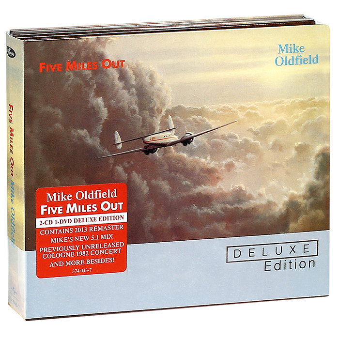Майк Олдфилд Mike Oldfield. Five Miles Out. Deluxe Edition (2 CD + DVD) блокада 2 dvd