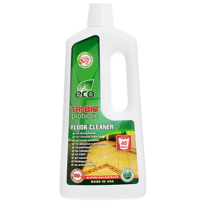 Биосредство для мытья полов Tri-Bio, 940 мл790009Биосредство Tri-Bio эффективно моет любые виды полов - линолеум, камень, керамическую плитку, ламинит, паркет, и т. п., не оставляя разводов. Справится даже с самыми сильными загрязнениями. Ликвидирует неприятные запахи. Обладает освежающим эффектом. Бережно ухаживает за полом, продлевая срок его службы. В отличие от стандартных химических продуктов, легко проникает в швы, позволяет обеспечить более длительный контроль запаха и более глубокую чистку.Особенности биосредства Tri-Bio для здоровья:Без фосфатов, без растворителей, без хлора отбеливающих веществ, без абразивных веществ, без отдушек, без красителей, без токсичных веществ, нейтральный pH, гипоаллергенно. Безопасная альтернатива химическим аналогам. Присвоен сертификат ECO GREEN. Рекомендуется для людей склонных к аллергическим реакциям и страдающих астмой.Особенности биосредства Tri-Bio для окружающей среды:низкий уровень ЛОС, легко биоразлагаемо, минимальное влияние на водные организмы, рециклируемые упаковочные материалы, не испытывалось на животных. Особо рекомендуется использовать в домах с автономной канализацией.Способ применения:Хорошо взболтайте средство. Разбавьте 2 колпачка (25 мл) на 5 л воды и вымойте этим раствором пол. Нет необходимости споласкивать водой. Характеристики:Объем:940 мл. Производитель:США. Артикул:0026.