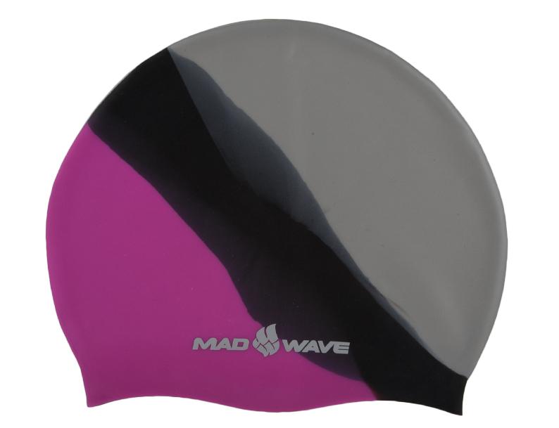 Шапочка для плавания MadWave Multi Big, силиконовая, цвет: розовый, черный, серыйTS V-31 WШапочка для плавания MadWave Multi Big классической плоской формы увеличенного размера. Изготовлена из высококачественного силикона устойчивого к воздействию хлорированной воды, что обеспечивает долгий срок использования. Характеристики: Материал: силикон. Размер шапочки: 23 см x 19 см. Производитель: Китай.Артикул: M0531 11 2 11W.
