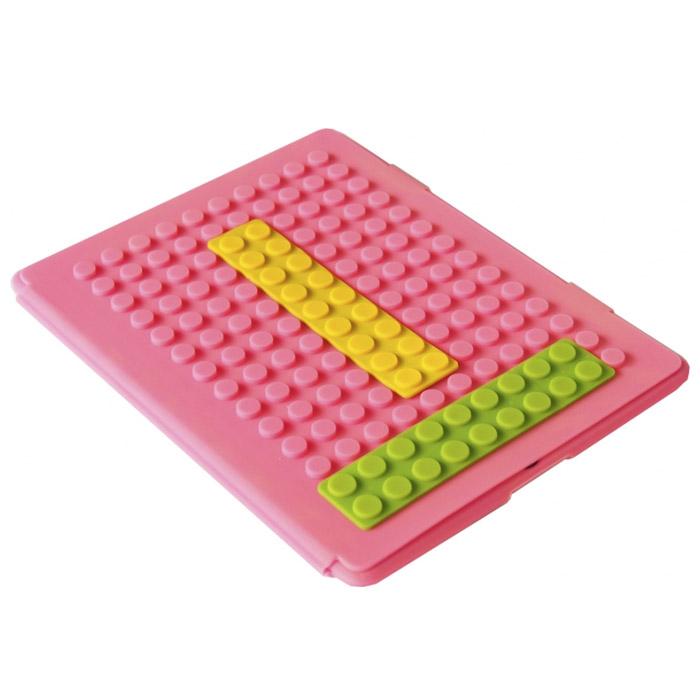 Чехол для iPad Lego, цвет: розовый003012Чехол для планшетника Lego - стильная вещица для защиты корпуса iPad серии 2, 3, 4, 5. Чехол выполнен из мягкого силикона и по дизайну напоминает элементы конструктора Lego. Идеальное сочетание элегантности и практичности.Такой чехол станет отличным подарком для человека, ценящего качественные и необычные вещи и не желающего портить внешний вид своего планшетника. Характеристики:Размер чехла: 19 см x 25 см х 1 см. Материал: силикон.Размер упаковки: 20 см х 25 см х 2 см. Артикул:003012.