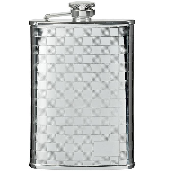 Фляга S.Quire, 240 мл. 1508YX-31508YX-3Металлическая фляга S.Quire предназначена для воды и различных спиртных напитков. Легкая, прочная, удобной формы, такая фляга идеально подходит для походов и путешествий.S.Quire - это коллекция модных, элегантных, стильных аксессуаров для мужчин, разработанная европейскими дизайнерами и отражающая все тенденции современной моды. В коллекцию S.Quire входит широкий ассортимент разнообразных товаров: фляги, заколки для галстуков, запонки, брелоки, бритвенные наборы, кружки, термосы, портсигары, пепельницы, изделия из кожи, винные аксессуары и наборы с различной комплектацией вышеперечисленных аксессуаров. Характеристики: Материал: нержавеющая сталь 18/10. Размер фляги: 9,5 см х 15 см х 2,1 см. Объем: 240 мл. Размер упаковки: 11 см х 16 см х 3 см. Артикул: 1508YX-3.