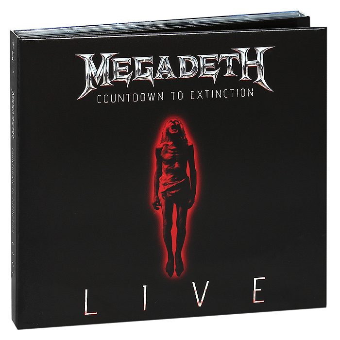 Megadeth Megadeth. Countdown To Extinction. Live. Limited Deluxe Edition (CD + DVD) рик уэйкман rick wakeman journey to the centre of the eart deluxe edition cd dvd