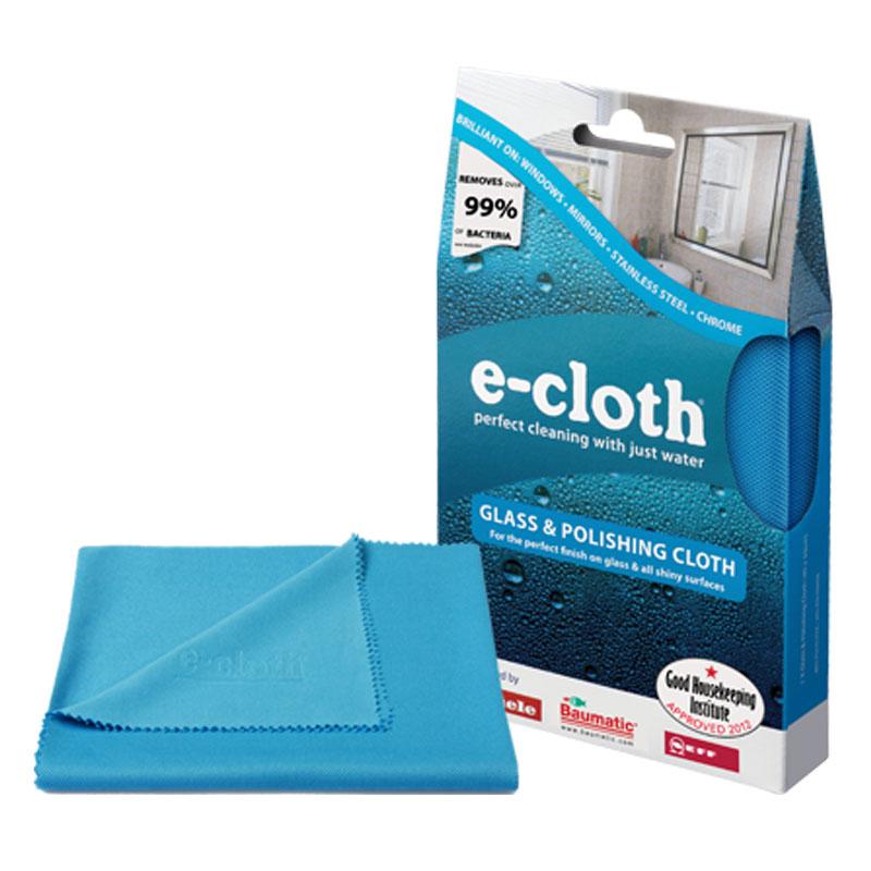 Салфетка E-cloth для полировки и очистки стекла, цвет: голубой, 40 х 50 см 20244 + ПОДАРОК: салфетка для смартфона68803Салфетка E-cloth выполнена из качественного комбинированного материала: полиэстера и полиамида. Используется для очистки и полировки стеклянных, металлических и других твердых поверхностей без использования химических средств. Достаточно лишь смочить салфетку водой для очистки поверхности от жира и других загрязнений. Для полировки и придания блеска используйте сухую салфетку. Не оставляет разводов. Удаляет свыше подавляющее большинство бактерий. Выдерживает до 300 циклов стирки без потери эффективности. Характеристики: Материал: 80% полиэстер, 20% полиамид. Цвет: голубой. Размер салфетки: 40 см х 50 см. Размер упаковки: 19 см х 12 см х 3 см. Артикул: 20244.