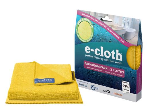 Набор салфеток E-cloth для уборки ванной, цвет: желтый, 2 шт. 2011410503В набор E-cloth входит салфетка для уборки ванной и салфетка для полировки и очистки стекла.Салфетка для уборки ванной выполнена из высококачественного комбинированного материала: полиэстера и полиамида. За счет более длинных и толстых волокон, салфетка имеет очень высокую впитывающую способность. Регулярное использование салфетки позволит избежать возникновения извескового налета. Для очистки от пыли используйте сухую салфетку. Удаляет подавляющее большинство бактерий. Выдерживает до 300 циклов стирки без потери эффективности.Салфетка для полировки и очистки стекла выполнена из высококачественного комбинированного материала: полиэстера и полиамида. Используется для очистки и полировки стеклянных, металлических и других твердых поверхностей без использования химических средств. Достаточно лишь смочить салфетку водой для очистки поверхности от жира и других загрязнений. Для полировки и придания блеска используйте сухую салфетку. Не оставляет разводов. Удаляет подавляющее большинство бактерий. Выдерживает до 300 циклов стирки без потери эффективности.Набор салфеток E-cloth - это все, что нужно для поддержания чистоты ванны и стеклянных поверхностей без использования химических средств. Характеристики: Материал салфетки для уборки ванны: 80% полиэстер, 20% полиамид. Размер салфетки для уборки ванны: 32 см х 32 см. Материал салфетки для полировки и очистки стекла: 80% полиэстер, 20% полиамид. Размер салфетки для полировки и очистки стекла: 40 см х 50 см. Размер упаковки: 19 см х 17,5 см х 2,5 см. Артикул: 20114.