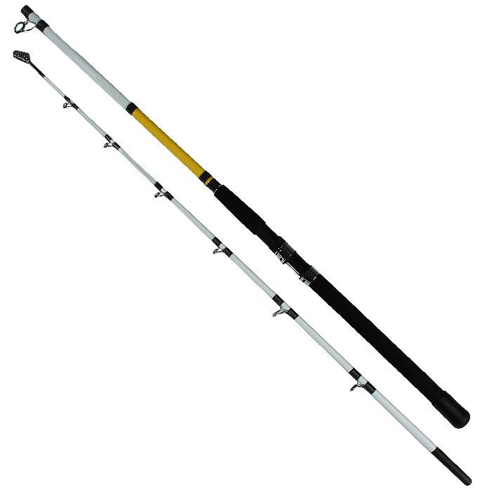 Спиннинг штекерный Atemi Boat Game, 2,1 м, 100-250 г211-11210Специализированный спиннинг для ловли на джеркбейты и крупные приманки. Позволяет комфортно выполнять правильную проводку приманок и справляться с самым сильным противником. Характеристики: Материал удилища: углепластик. Материал ручки: неопрен. Длина спиннинга: 2,1 м. Тест (вес приманки): 100-250 г. Количество секций: 2.