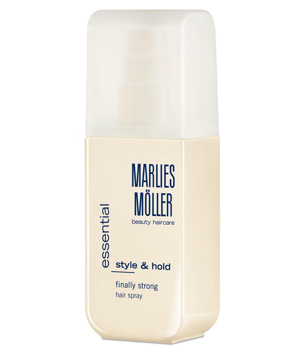 Marlies Moller Лак для волос Styling, сильная фиксация, 125 млSatin Hair 7 BR730MNЖидкий лак - самый популярный, содержит гибкие полимеры для укладки. Обеспечивает сильную фиксацию без склеивания и шелковый блеск волос! Легко удаляется с волос. Защищает волосы от влажного воздуха. Подходит для любого типа укладки. Сложные прически, гладкие, приподнимает корни.Завершая укладку, нанесите лак, держа флакон на расстоянии 20-30 см.
