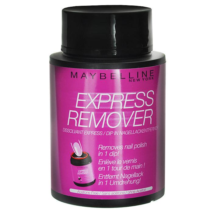 Maybelline New York Экспресс-средство для снятия лака, с экстрактом миндяля, 75 мл1092018Опусти, покрути, готово.