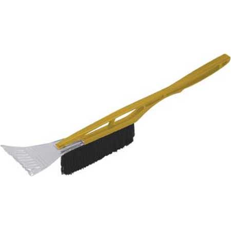 Щетка-скребок для уборки снега FIT, длина 53 см, цвет: желтыйкн12-60авцЩетка-скребок FIT используется для удаления снега и льда. Рукоятка выполнена из пластика. Щетина не повреждает лакокрасочное покрытие автомобиля. Характеристики: Материал: пластик. Размеры щетки-скребка: 53 см x 10 см x 9 см. Длина щетины: 5,5 см. Размер упаковки: 53 см х 10 см х 9 см.