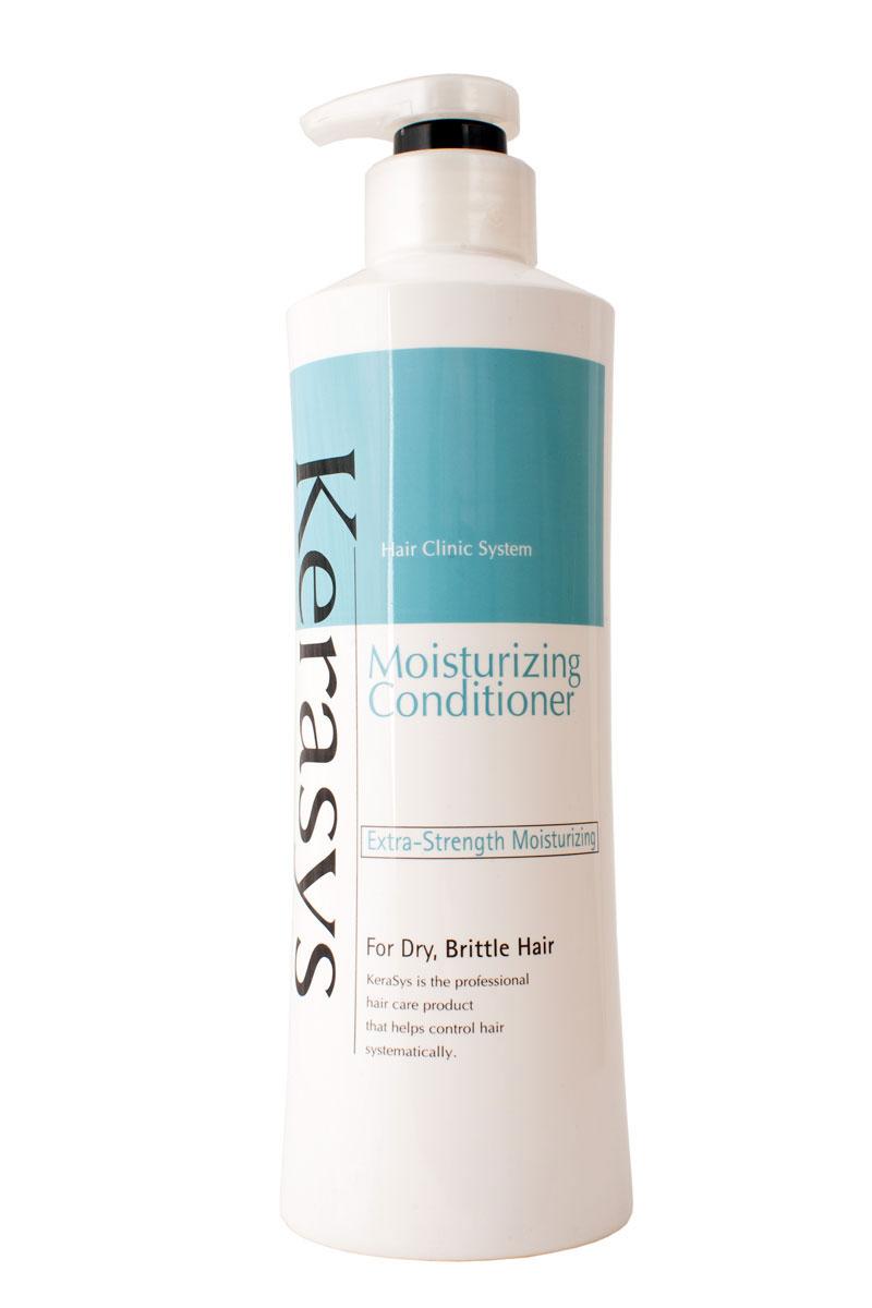 Кондиционер KeraSys для волос, увлажняющий, 600 мл838655Система лечения волос KeraSys является исключительным набором для ухода за волосами, научно разработанным для восстановления поврежденных волос. Кондиционер KeraSys содержит травяные экстракты, экстракт эдельвейса альпийского, пантенол и гидролизованный протеин, которые увлажняют и придают энергию поврежденным волосам. Типы волос:для сухих и нормальных волос, длинных и вьющихся. Характеристики: Объем: 600 мл. Артикул: 849682. Товар сертифицирован.