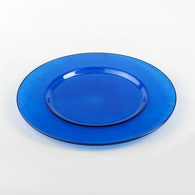 Блюдо Workshop Arte, цвет: синий, диаметр 35 смVT-1520(SR)Изящное блюдо Workshop Arte, выполненное из прочного натрий-кальций-силикатного стекла синего цвета, станет чудесным украшением любого праздничного стола. Красочность оформления придется по вкусу и ценителям классики, и тем, кто предпочитает утонченность и изысканность. Блюдо Workshop Arte идеально подойдет для сервировки стола и станет отличным подарком к любому празднику. Характеристики: Материал: натрий-кальций-силикатное стекло. Диаметр: 35 см. Цвет: синий. Размер упаковки: 35 см х 36 см х 2 см. Артикул: 54253BL.