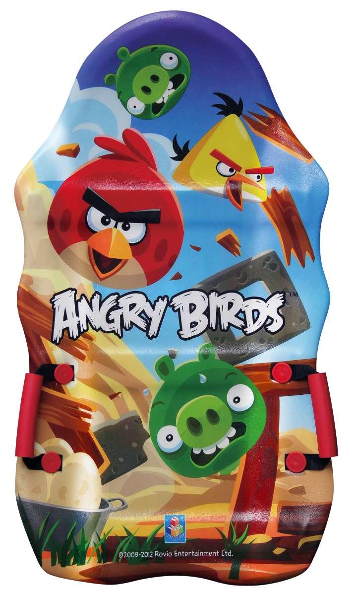 Ледянка 1toy Angry Birds, длина 94 см21662Ледянка с красочным дизайном героев популярной игры Angry Birds. Несмотря на то, что ледянка очень легкая и прочная, на ней можно кататься практически с любых горок. Изготовлена из прочного вспененного пластика. Ледянка имеет плотные ручки. Яркий рисунок будет долго держаться даже при интенсивном катании. Характеристики:Материал: ПВХ (поливинилхлорид). Размер ледянки: 50 см x 94 см x 4 см. Размер упаковки: 89 см x 49 см x 10 см Изготовитель: Китай.