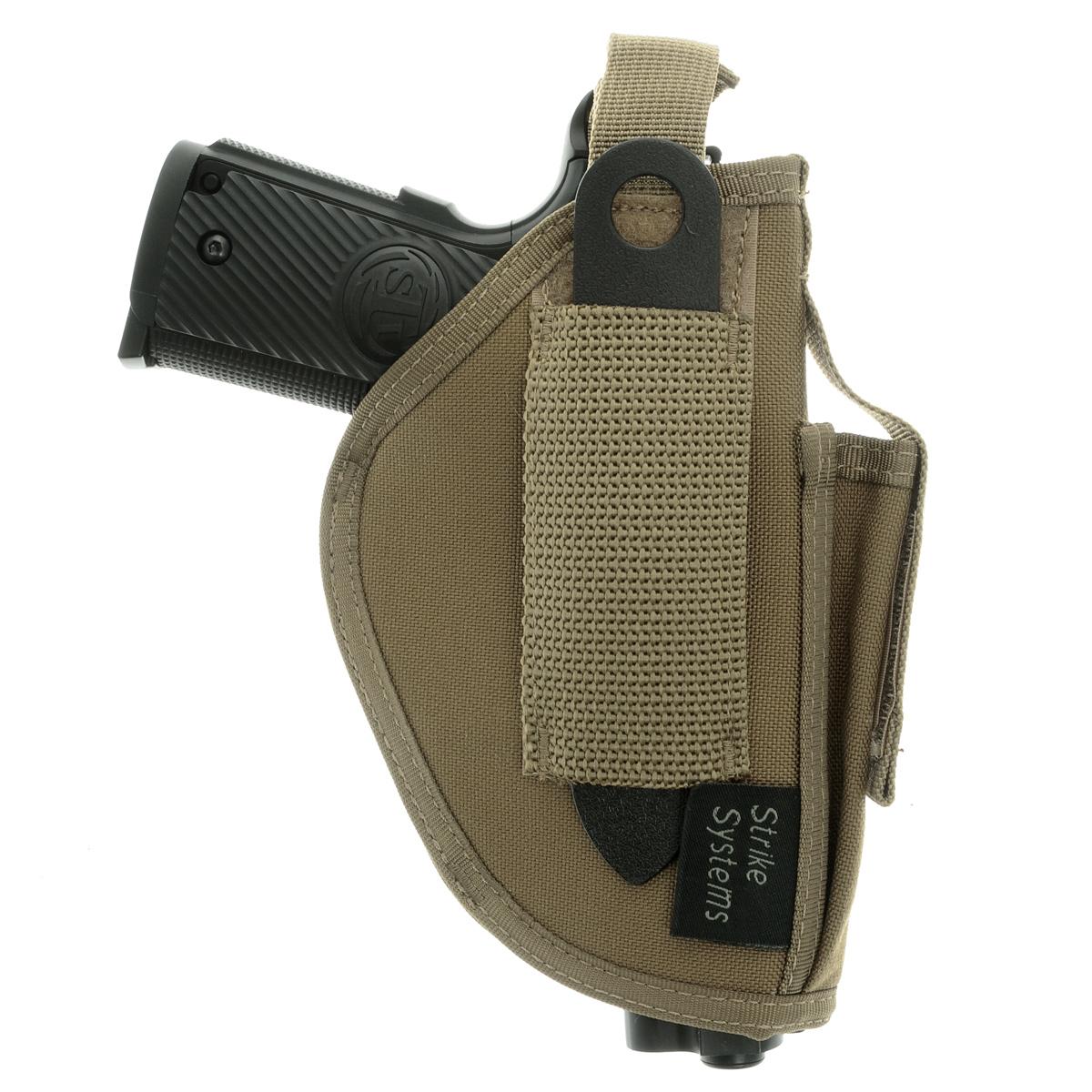 Кобура ASG оперативная для M92, G17/18, STI, CZ, Steyr, Bersa, цвет: Tan (17021)15924Кобура оперативная (для ношения под мышкой) для пневматических и страйкбольных пистолетов серий M92, G17/18, STI, CZ, Steyr, Bersa (полноразмерные и среднеразмерные - Full Frame и Mid Frame) с подсумком для запасного магазина.Предназначена для ношения в тире и на полигоне. Не рассчитана на скрытое ношение. Показанные на фото оружие и аксессуары в комплект не входят. Не рассчитана на использование с боевым оружием. Подходит для правшей.Регулируется по размерам.Комфортные мягкие лямки.Двойные швы.Из износостойкого и влагостойкого нейлона.Возвраттоваравозможен только при наличии заключения сервисного центра.Время работы сервисного центра: Пн-чт: 10.00-18.00 Пт: 10.00- 17.00Сб, Вс: выходные дниАдрес: ООО ГАТО, 121471, г.Москва,ул.ПетраАлексеева,д12., тел. (495)232-4670, gato@gato.ruХарактеристики: Материал: нейлон. Размер кобуры (без креплений): 18 см х 11 см х 4 см. Размер упаковки: 33 см х 22 см х 7 см. Артикул: 17021.Уважаемые покупатели, обращаем Ваше внимание что авиадоставка в нижеперечисленные города этого товара временно недоступна! 1. Ангарск 2. Благовещенск 3. Бодайбо 4. Братск 5. Владивосток 6. Воркута 7. Иркутск 8. Калининград 9. Надым 10. Нарьян-Мар 11. Находка 12. Норильск 13. Петропавловск-Камчатский 14. Салехард 15. Улан-Удэ 16. Уссурийск 17. Ухта 18. Хабаровск 19. Чита 20. Энергетик 21. Южно-Сахалинск 22. Якутск