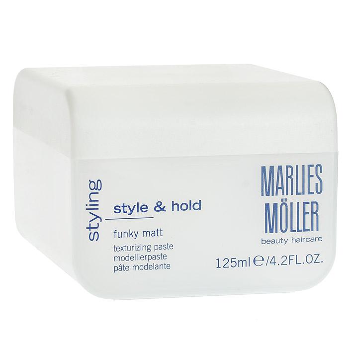 Marlies Moller Паста Styling для укладки волос, матовая, 125 мл25802MMsСильная укладка для любых волос с шелковисто-матовым эффектом. Создает объем от корней. Легко удаляется с волос. УФ-защита. Не содержит алкоголь. Распределите между пальцами рук небольшое количество средства. Для того, чтобы придать укладке желаемую форму и матовый эффект, наносите пасту на сухие или подсушенные полотенцем волосы. Для создания более объемной укладки разотрите пасту в ладонях (как крем для рук!) и втирающими движениями нанесите на волосы в прикорневой зоне.Распределите между пальцами рук небольшое количество средства. Для того, чтобы придать укладке желаемую форму и матовый эффект, наносите пасту на сухие или подсушенные полотенцем волосы.