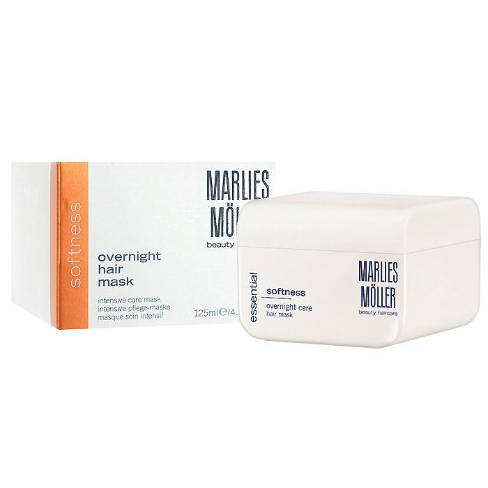 Marlies Moller Маска Softness для гладкости волос, интенсивная, 125 мл891346Маска рекомендуется для жестких, непослушных и толстых волос. Она мгновенно придает волосам мягкость, шелковистую гладкость и блеск. Интенсивно ухаживает за волосами по всей длине. Насыщает волосы питательными компонентами. Восстанавливает структуру волос. Защищает от высокой температуры и УФ излучения. Премиальный уход с профессиональным эффектом. Высокая концентрация активных компонентов. Мягкое средство без силиконов, позволяет частое применение. Уникальность маски заключается не только в эффекте, который она оказывает на волосы, но и в способах нанесения, их три. Можно вечером нанести маску тонким слоем и оставить на всю ночь (не пачкает подушку). Можно утром нанесите небольшое количество маски на сухие волосы, дать впитаться (1-2 минуты). Если волосы вьются - сначала эффект мокрых волос, когда впитается - ухоженные кудри. Маска совершенно незаметна на волосах и будет весь день интенсивно ухаживать и защищать Ваши волосы. Можно нанести маску перед мытьем на сухие волосы, распределяется по всей длине волос, после 10 - 20 минут смыть шампунем.Два способа применения. Наносится на сухие волосы на всю ночь или день Наносится небольшое количество на сухие волосы, распределяется по всей длине волос, после 10 мин смывается шампунем