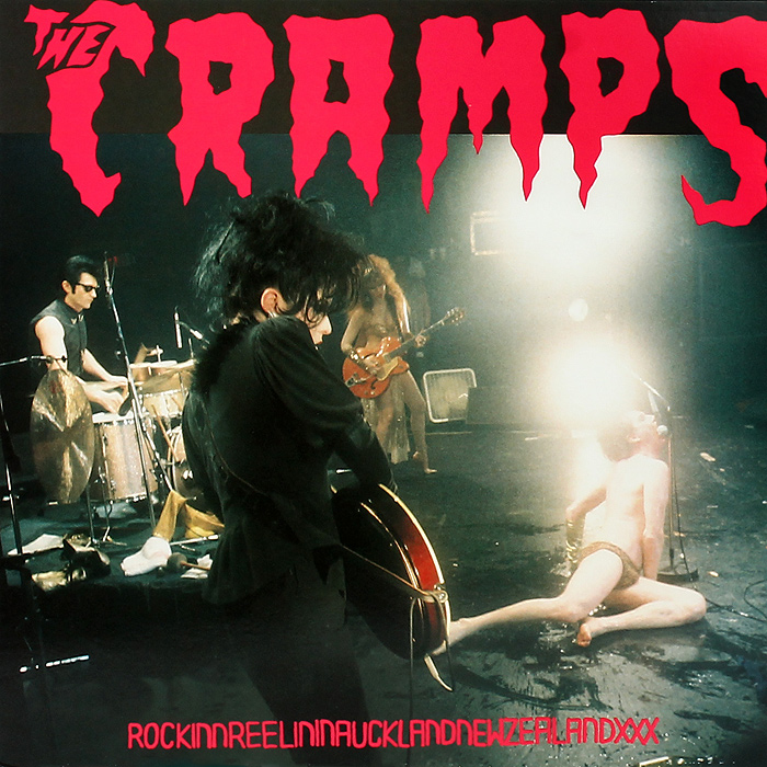 The Cramps The Cramps. Rockinnreelininaucklandnewzealandxxx (LP) the trespasser