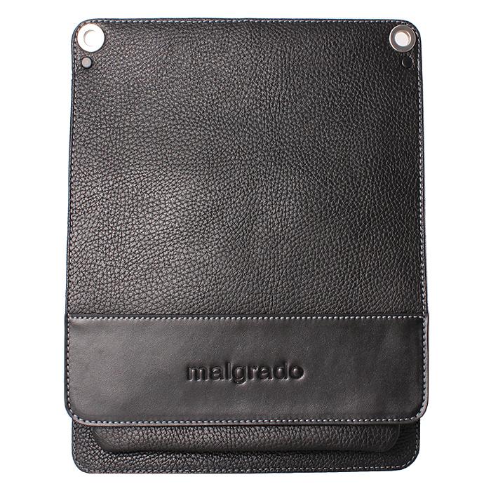 Сумка мужская Malgrado, цвет: черный. BR11-480С1538579995-400Оригинальная мужская сумка Malgrado из натуральной кожи черного цвета. Сумка закрывается клапаном на две внутренние магнитные кнопки. Внутри одно отделение, вшитый карман на кнопке. Под клапаном имеется накладной карман на молнии, в котором расположен кармашек для телефона, два кармашка для визиток и кредитных карт, два кармашка для пишущих принадлежностей. В комплекте плечевой текстильный ремень и чехол для хранения. Характеристики:Материал: натуральная кожа, текстиль, металл. Размер сумки: 28,5 см х 35 см х 4 см. Длина плечевого ремня: 98 см. Цвет: черный. Артикул: BR11-480С1538 black.