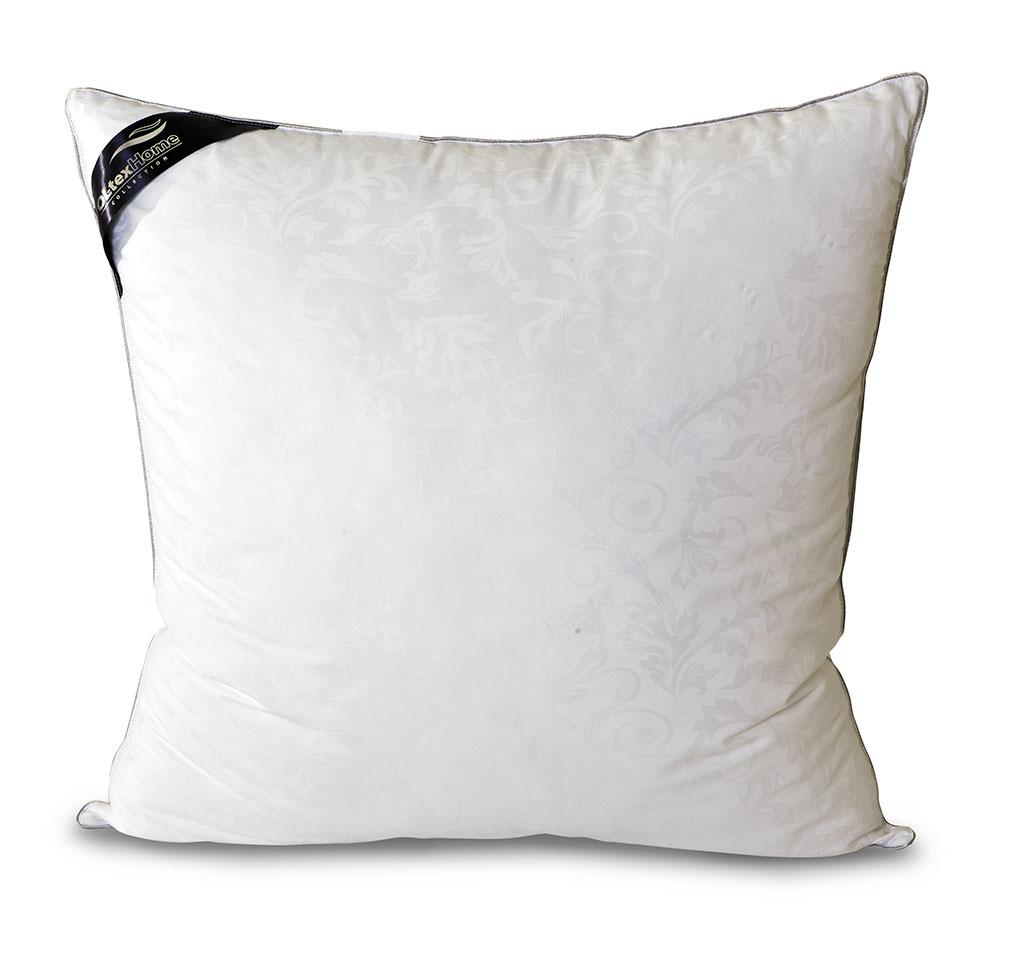 Подушка OL-Tex Nano Silver, цвет: белый, 68 х 68 см03(23)18ЕЧехол подушки OL-Tex Nano Silver выполнен из мягкого приятного на ощупь материала сатин-жаккард (100% хлопок). Наполнитель - сверхтонкое высокосиликонизированное волокно OL-tex с ионами серебра.О чудотворном действии серебра люди знали давно. Благодаря использованию наполнителя с ионами серебра, изделия приобретают уникальные потребительские свойства. Серебро убивает бактерии, вызывающие неприятные запахи, микробов и клещей, обитающих в домашней пыли. Изделия с ионами серебра идеально подходят для людей, страдающих от аллергии. Серебро, благодаря высокой электрической проводимости, рассеивает электростатическое напряжение, накопившееся за день на коже из-за обилия синтетической одежды, работы за компьютером и др. А также в холодную погоду, благодаря способности серебра к терморегуляции, постель лучше сохраняет тепло. В жару одеяла и подушки с включением серебра ускоряют испарение влаги, создавая комфортную среду.Подушка OL-Tex Nano Silver - достойный выбор современной хозяйки!Рекомендации по уходу:- Стирка в теплой воде (температура до 30°С),- Нельзя отбеливать. При стирке не использовать средства, содержащие отбеливатели (хлор),- Сушить вертикально без отжима, - Не гладить. Не применять обработку паром,- Нельзя выжимать и сушить в стиральной машине. Характеристики: Материал чехла: сатин-жаккард (100% хлопок). Наполнитель: микроволокно OL-tex с ионами серебра Nano Silver. Цвет: белый. Плотность: 300 г/м2. Размер подушки: 68 см х 68 см. Размеры упаковки: 70 см х 70 см х 15 см. Артикул: ОЛСС-77-1.