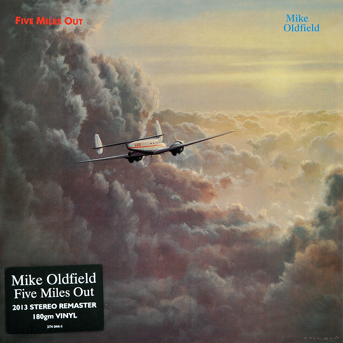 Mike Oldfield.  Five Miles Out (LP) Mercury Records Limited,ООО