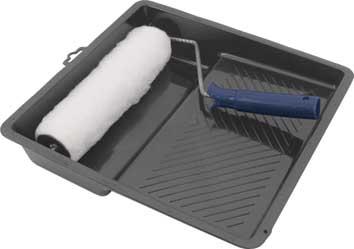 Валик меховой FIT, 250 мм с ванночкой98293777Валик из искусственного меха с ванночкой FIT используется для внутренних работ. Применяется для высококачественной окраски гладких поверхностей вододисперсионными красками. Характеристики: Материал: пластик, металл, искусственный мех. Размеры валика: 33 см х 26 см х 5 см. Длинна ручки валика: 15 см. Диаметр бюгеля: 0,6 см. Размеры ванночки: 32 см х 31 см. Глубина ванночки:6 см. Размеры упаковки: 33 см х 31 см х 10 см.