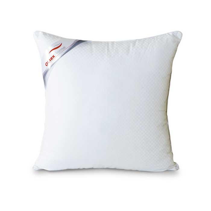 Подушка OL-Tex Богема, 45 х 45 см16056Чехол подушки OL-Tex Богема выполнен из мягкого приятного на ощупь сатина-страйп. Наполнитель - высокосиликонизированное микроволокно OL-tex, которое является усовершенствованным аналогом наполнителя Лебяжий пух.Лебяжий пух - это современный заменитель натурального лебяжьего пуха. Искусственный Лебяжий пух сохраняет непревзойденную мягкость и легкость природного материала, но еще обладает и рядом новых достоинств. Лебяжий пух не вызывает аллергии, в изделиях с таким наполнителем не заводится клещ, бактерии, гнили. За подушками и одеялами очень легко ухаживать - их можно стирать в машинке, они быстро и полностью высыхают.Подушка из коллекции Богема – это необыкновенная мягкость и комфорт. Белый атласный кант украшает подушку. Высококачественный наполнитель Ol-Tex способствует свободной циркуляции воздуха, подушка дышит, лежать на такой подушке – одно удовольствие. Подушка абсолютно гипоаллергенна и идеально подходит людям, страдающим аллергией.Подушка OL-Tex Богема - достойный выбор современной хозяйки!Рекомендации по уходу:- Стирка в теплой воде (температура до 30°С),- Нельзя отбеливать. При стирке не использовать средства, содержащие отбеливатели (хлор),- Сушить вертикально без отжима, - Не гладить. Не применять обработку паром,- Нельзя выжимать и сушить в стиральной машине. Характеристики: Материал чехла: сатин-страйп (100% хлопок). Наполнитель: микроволокно OL-tex. Размер подушки: 45 см х 45 см. Размеры упаковки: 50 см х 50 см х 6 см. Артикул: ОЛС-45-1.УВАЖАЕМЫЕ КЛИЕНТЫ! Обращаем ваше внимание на возможные изменения в цветовом дизайне товара, связанные с ассортиментом продукции. Поставка осуществляется в зависимости от наличия на складе.
