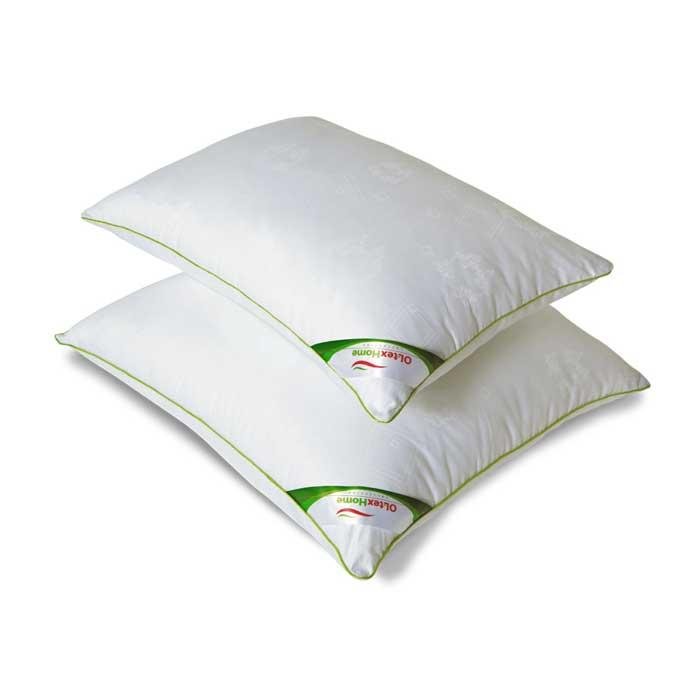 Подушка OL-Tex Organic Dream, снимающая стресс, цвет: белый, 50 х 68 см юбка oodji ultra цвет белый 11605061 35319 1000n размер 44 170 50 170